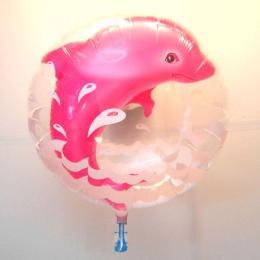 バブルバルーン ピンクドルフィン