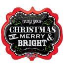チョークボードクリスマス