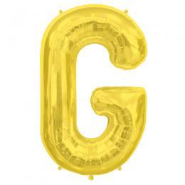 プレミアムレターバルーン ゴールド「G」