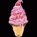 バースデーアイスクリーム